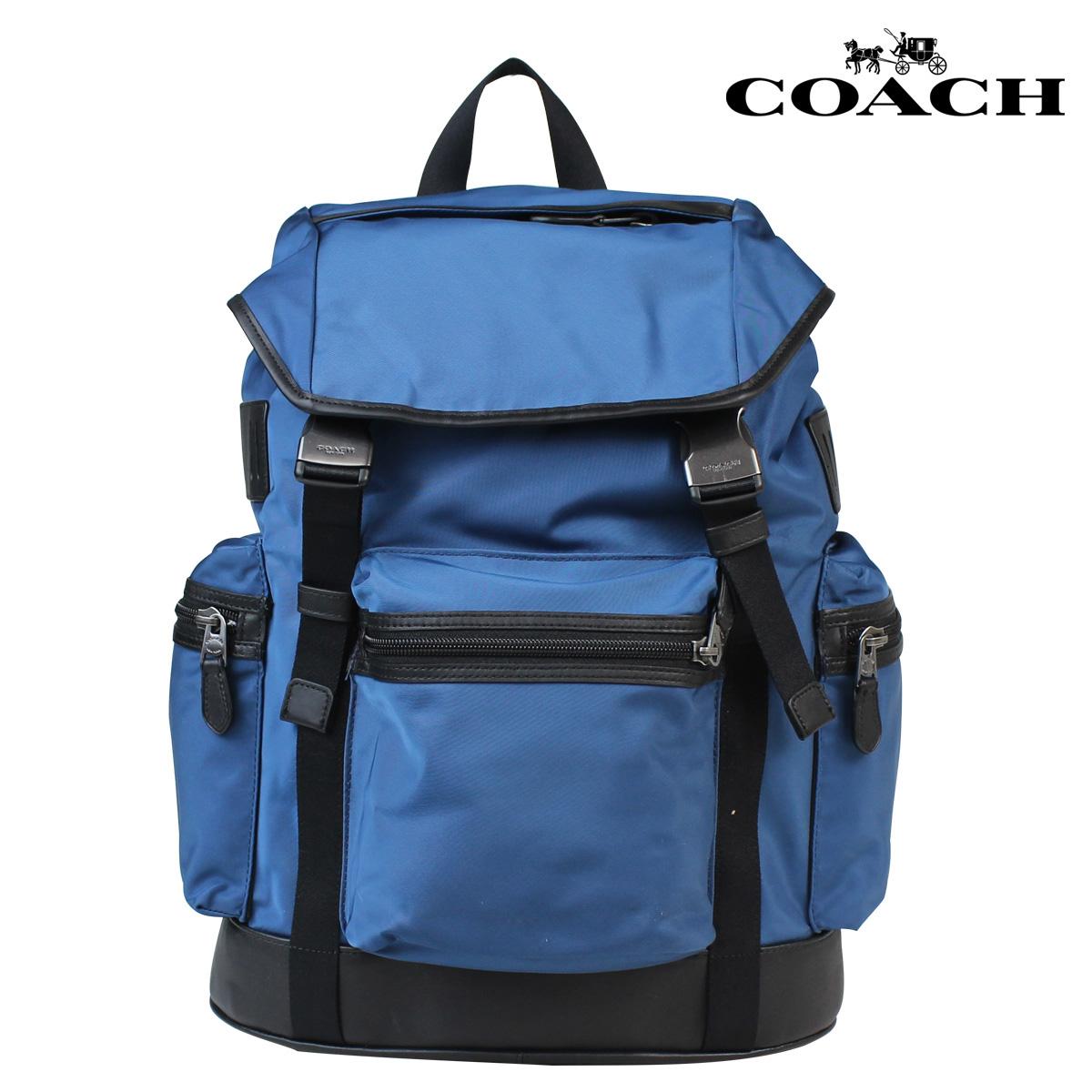 COACH コーチ メンズ リュック バックパック F71884 スレート