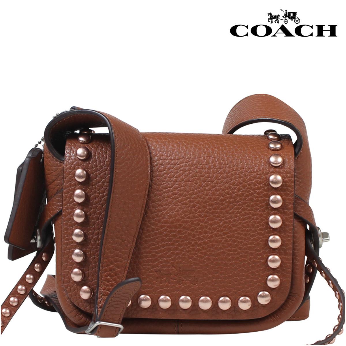 COACH コーチ バッグ ショルダーバッグ ブティック商品 35750 サドル レディース