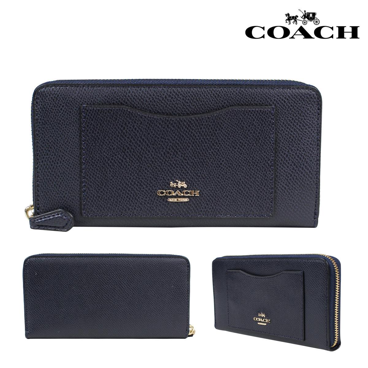 COACH コーチ 財布 長財布 レディース F54007 ミッドナイト