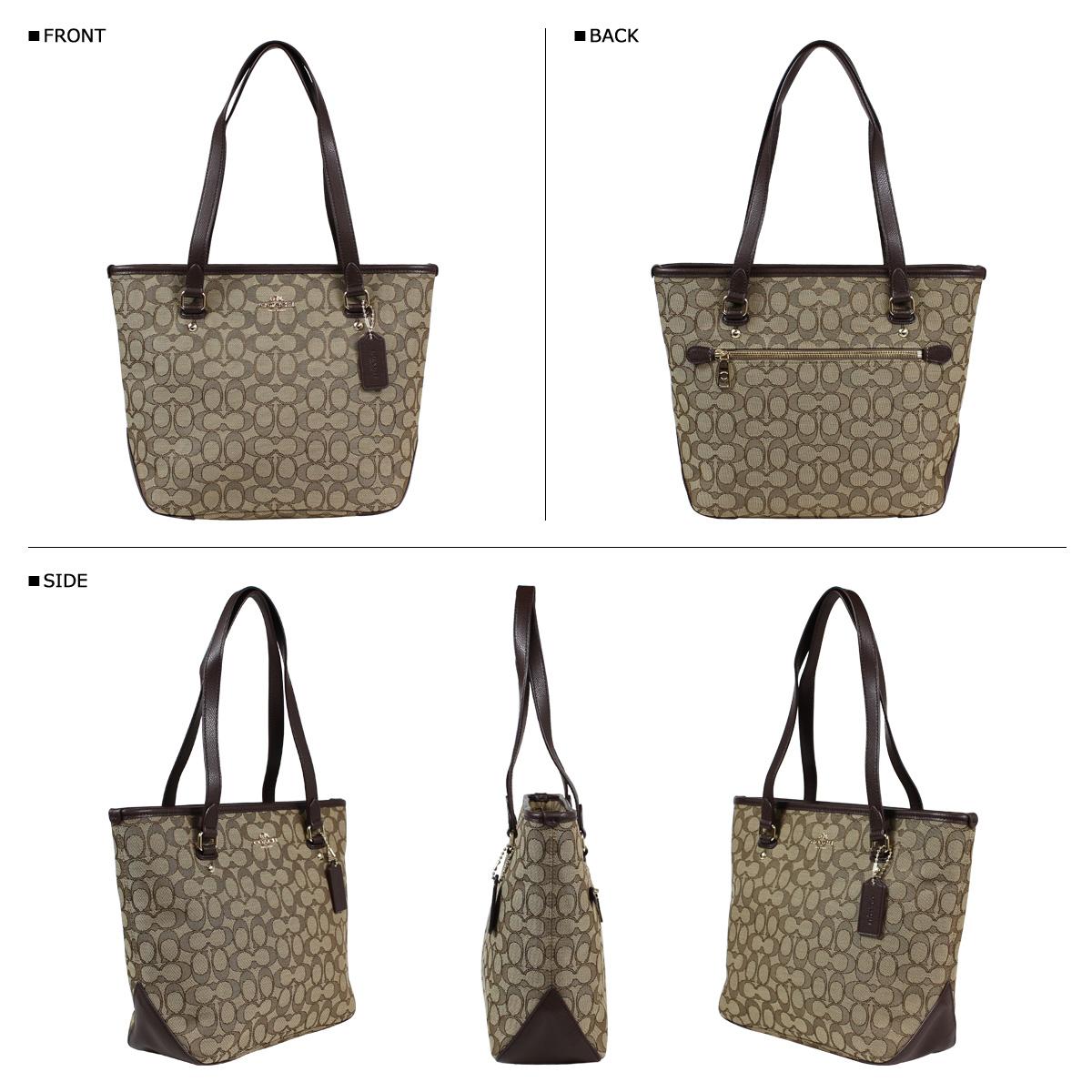 a0f486a166c3 ... ireland coach coach bag tote bag f55364 khaki brown ladies 2944d f5905