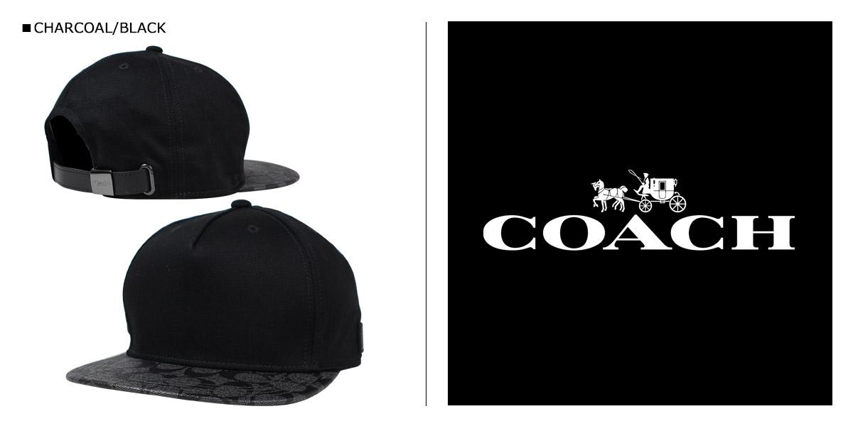 教练教练男装帽帽子 F86476 木炭和黑 [9/6 返回股票]