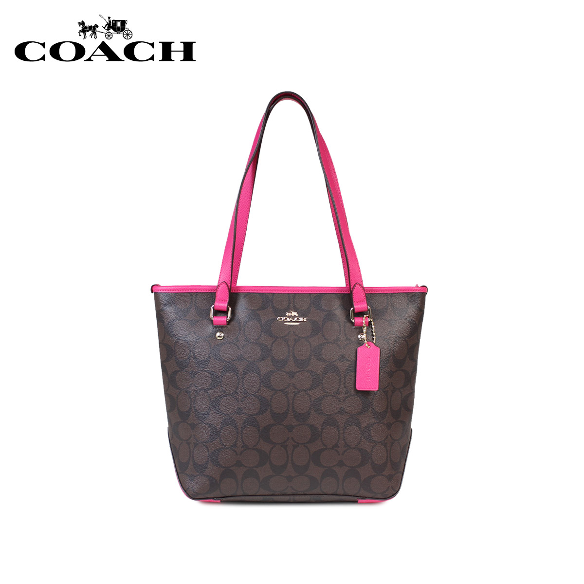 a78ce60c39bd1 where can i buy coach tote bag coach bag lady f34603 brown x pink ruby 1