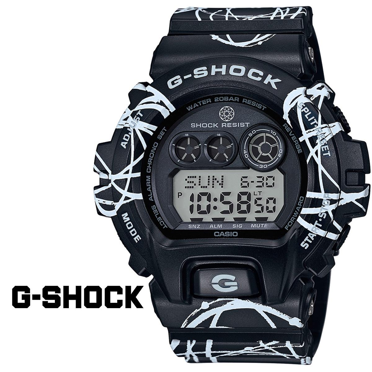 CASIO Casio g-shock watch collaboration FUTURA GD-X6900FTR-1JR