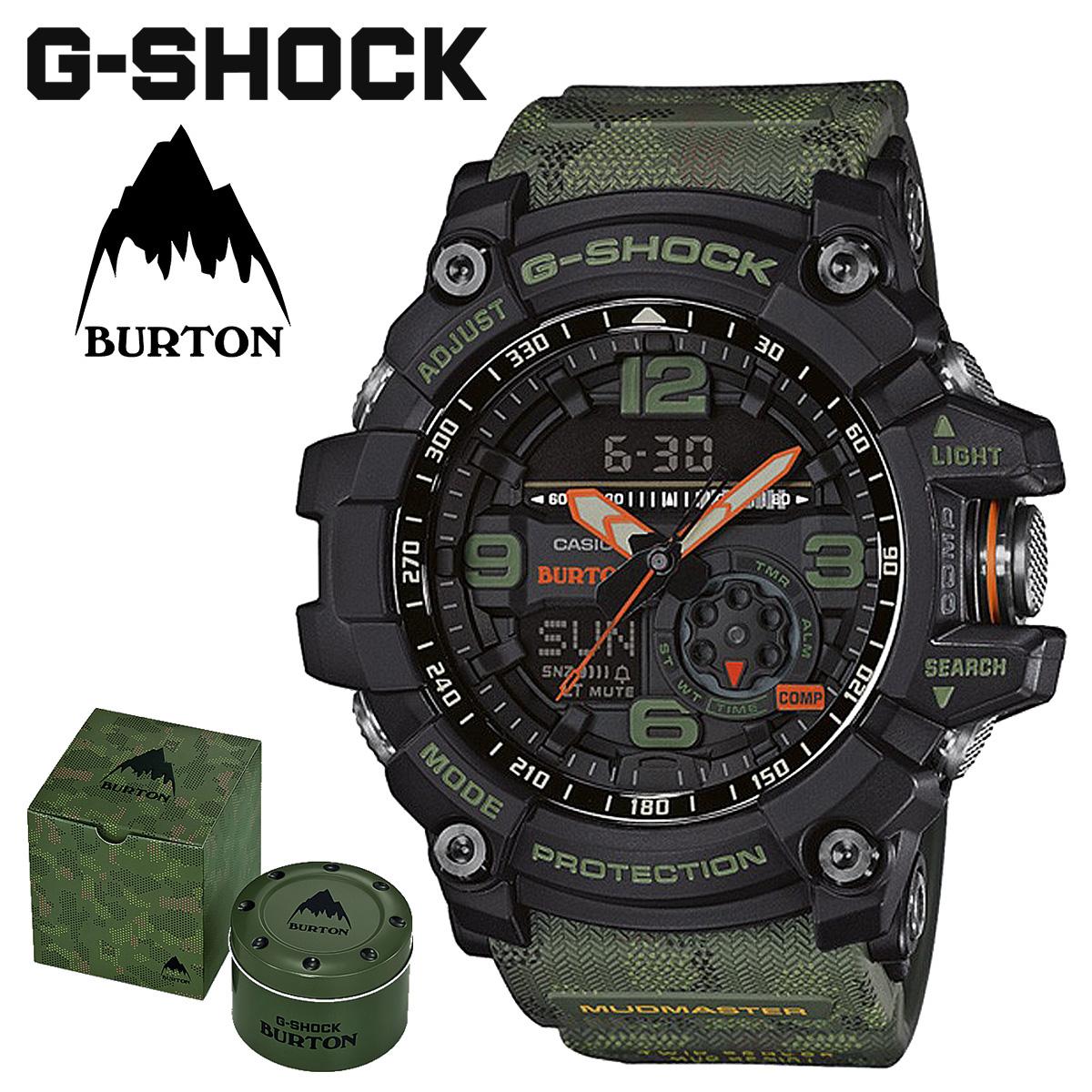318160bafa CASIO Casio G-SHOCK watch mad master GG-1000BTN-1AJR collaboration  MUDMASTER BURTON ジーショック G-Shock G- shock camouflage men gap Dis