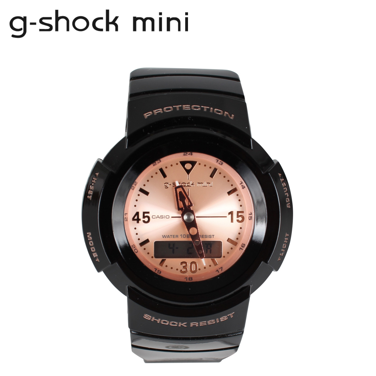 71aa3409198b Casio CASIO g-shock mini ladies watch men s GMN-500-1B3JR black x pink  1    28 new in stock   regular