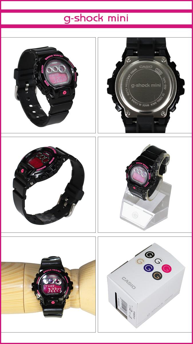Casio GMN-692-1JR CASIO g-shock mini watch men's women's watches