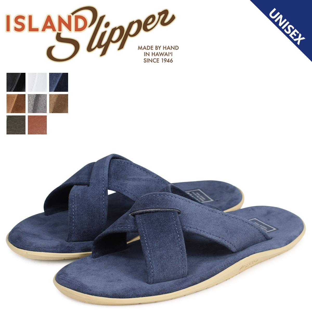 ISLAND SLIPPER アイランドスリッパ サンダル メンズ レディース レザー スエード SLIDE PB223 PT223 [3/2 追加入荷]