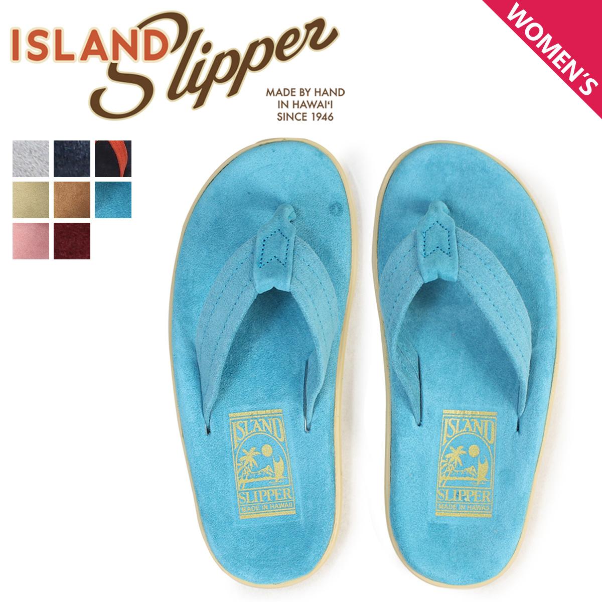 ISLAND SLIPPER アイランドスリッパ サンダル トングサンダル ビーチサンダル レディース スエード CLASSIC SUEDE PT203 [4/6 追加入荷]
