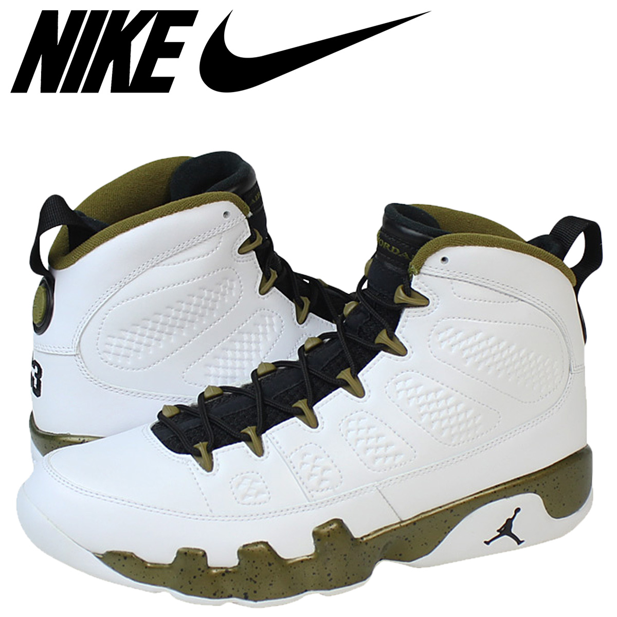 df4f7659910cce Nike NIKE Air Jordan sneakers AIR JORDAN 9 RETRO Air Jordan 9 retro 302370  - 109 white mens