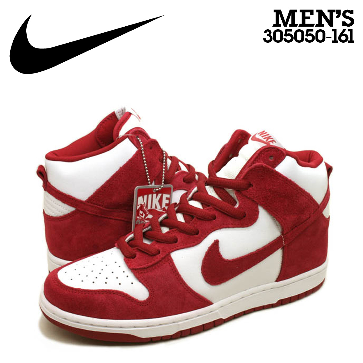 super popular 76c35 c2b21 305,050-161 red white white men of the 20th anniversary of NIKE Nike dunk  sneakers DUNK HIGH PRO SB TRUE TO YOUR SCHOOL dunk high professional S B