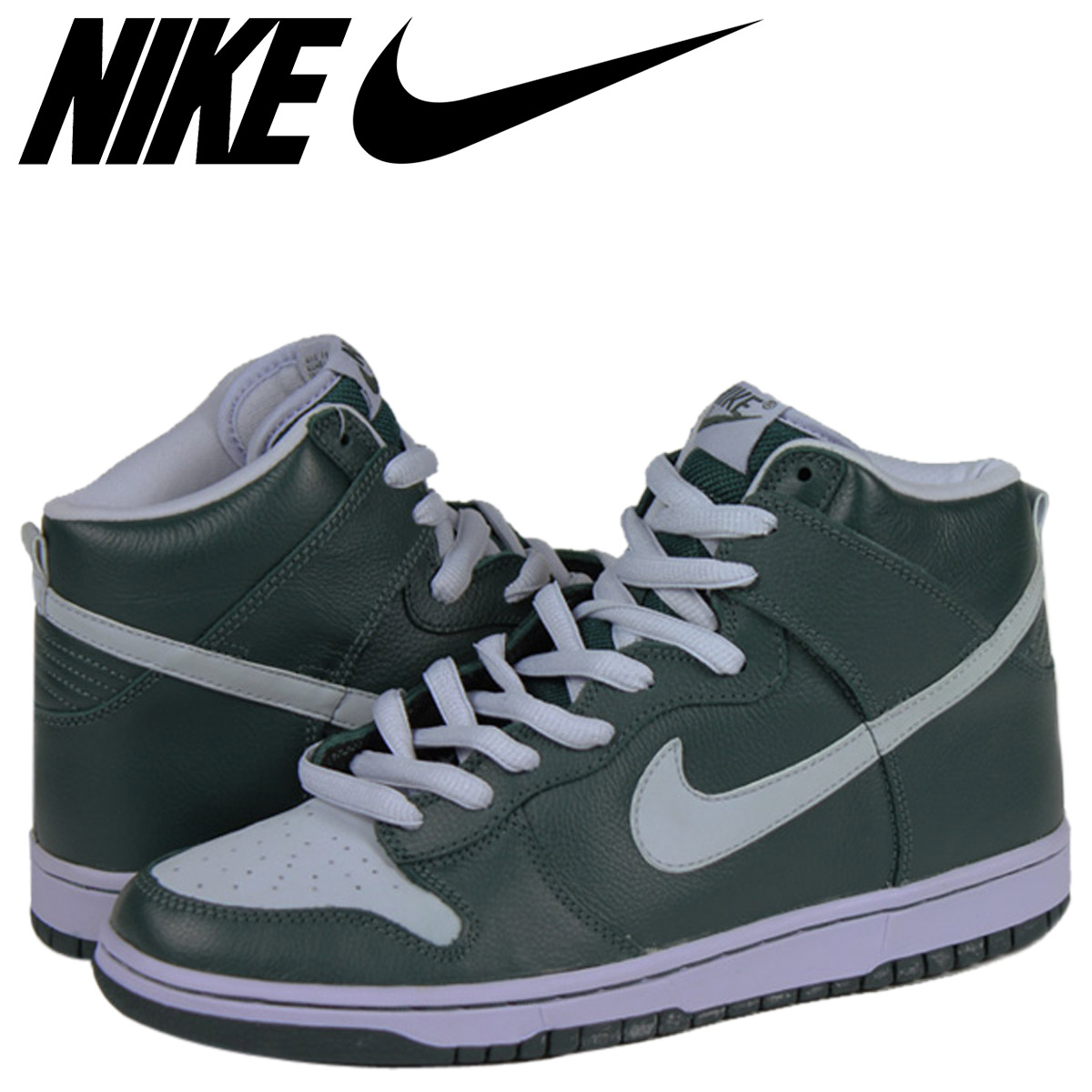 meilleures baskets 53360 acd09 NIKE Nike dunk sneakers DUNK HIGH PRO SB GHOST dunk high professional S B  ghost 305,050-302 green men