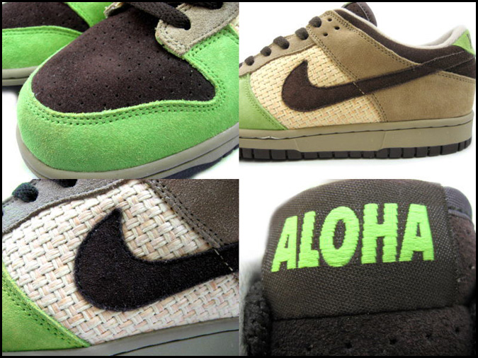 more photos a6f2a 2e54b ... SOLD OUT Nike NIKE dunk sneakers DUNK LOW ICS HAWAII dunk low kicks  Hawaii 310661- ...