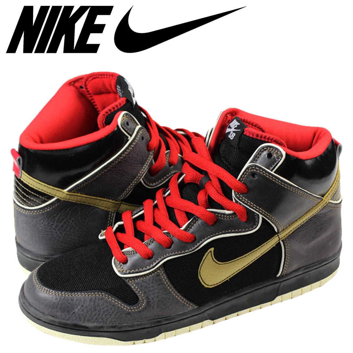 07f187c2428e Nike NIKE dunk sneakers DUNK HI SB MARSHALL AMP dunk Hi SB Marshall amps  313171-071 black mens