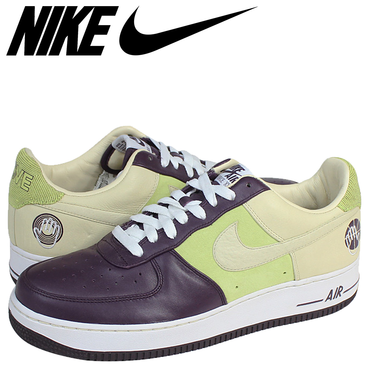 4c659c726f8a6 NIKE Nike air force sneakers AIR FORCE 1 PREMIUM 07 BOBBITO GARCIA air  force 1 premium 07 Bobby Japanese hemlock Lucia 316,892-521 purple men