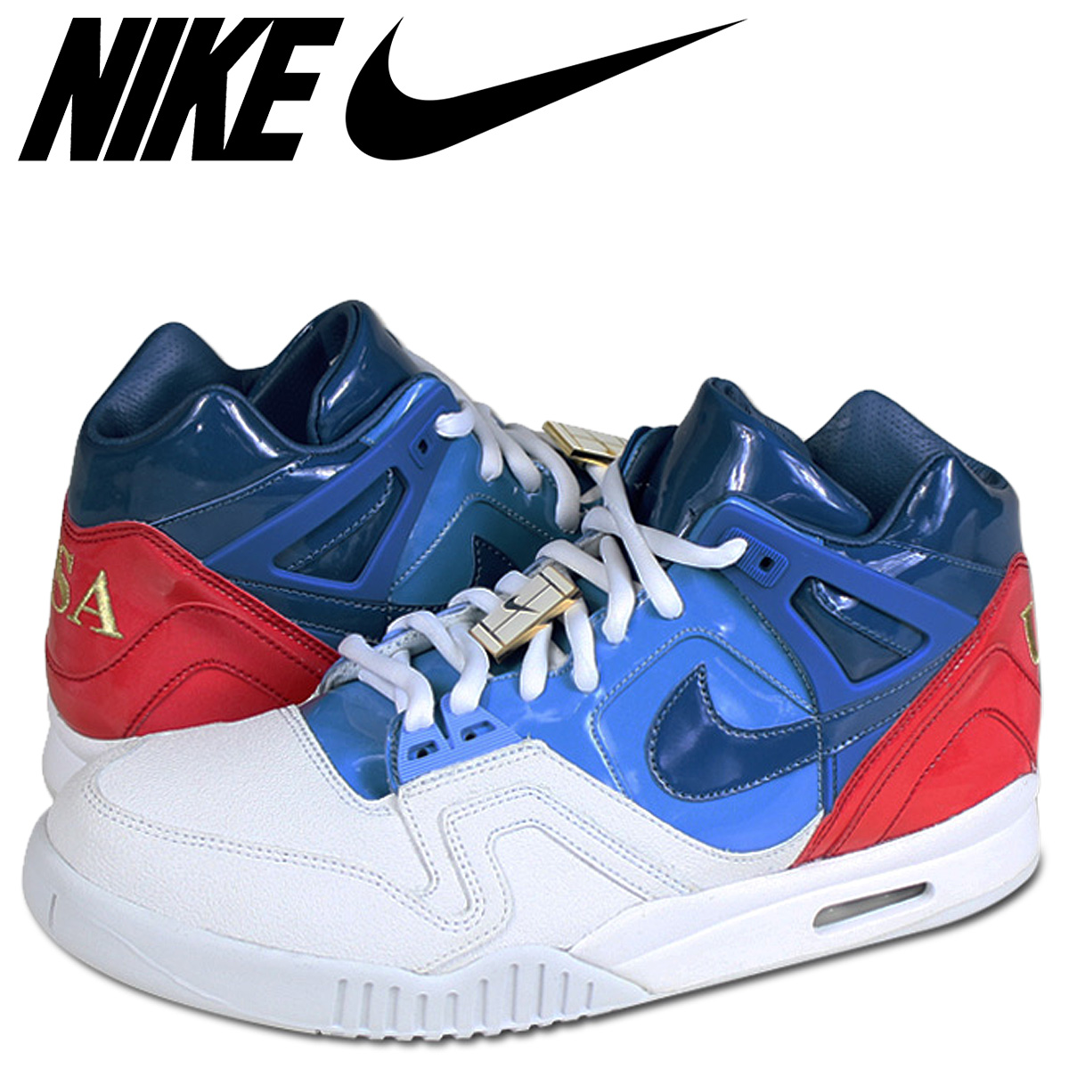 plus récent 86e23 ac395 NIKE Nike air technical center challenge sneakers AIR TECH CHALLENGE 2 SP  621,358-146 white white men
