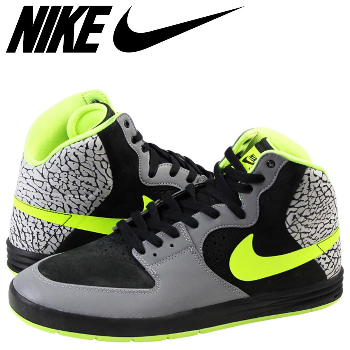 83efde5165e4 Nike NIKE Paul Rodriguez sneakers SB PAUL RODRIGUEZ 7 HI PREMIUM QS DJ  CLARK KENT Paul Rodriguez 629183-030 grey mens