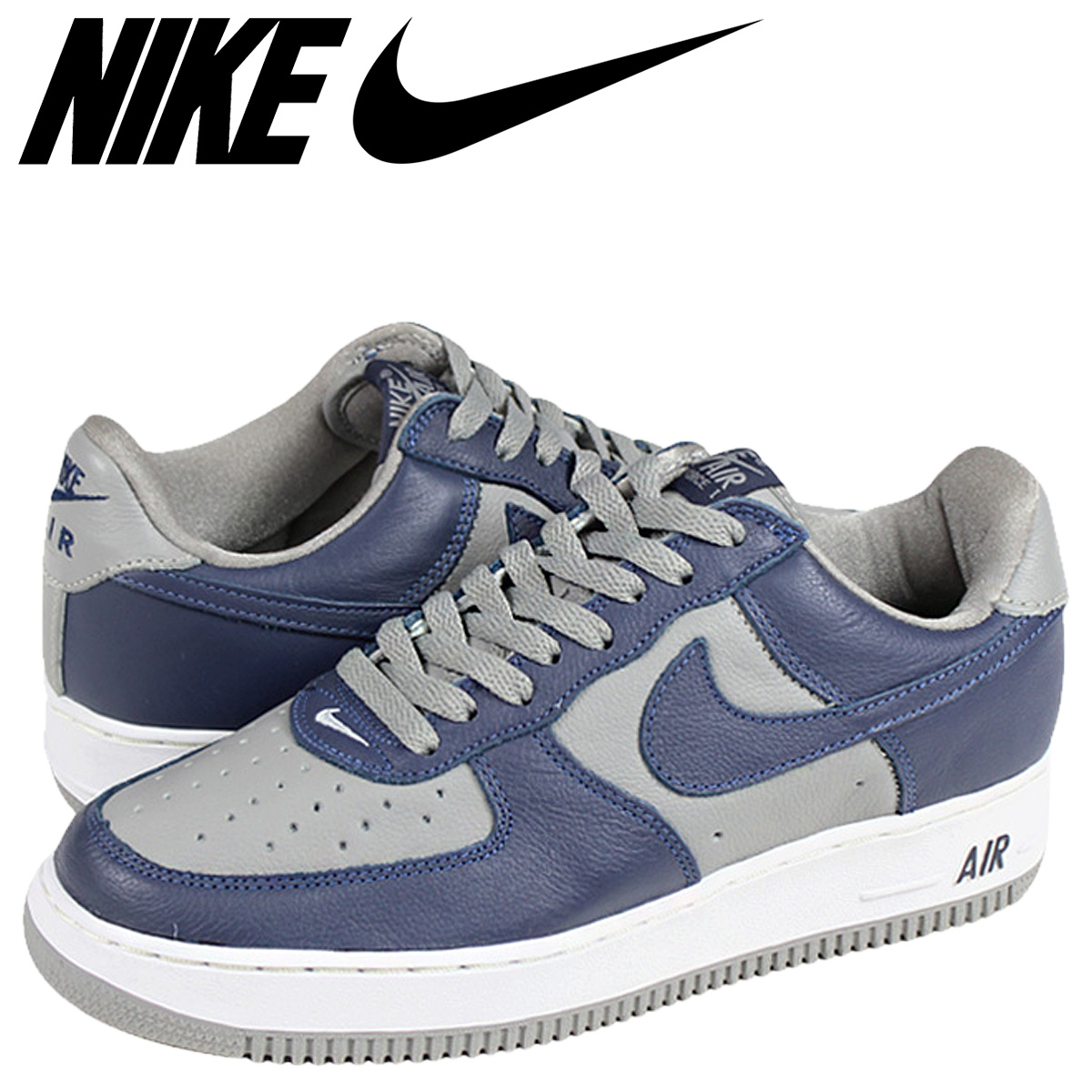huge selection of e73ec 81f04 NIKE Nike air force sneakers AIR FORCE 1 LOW air force atto- MOS suggestion  color 630,033-044 gray men