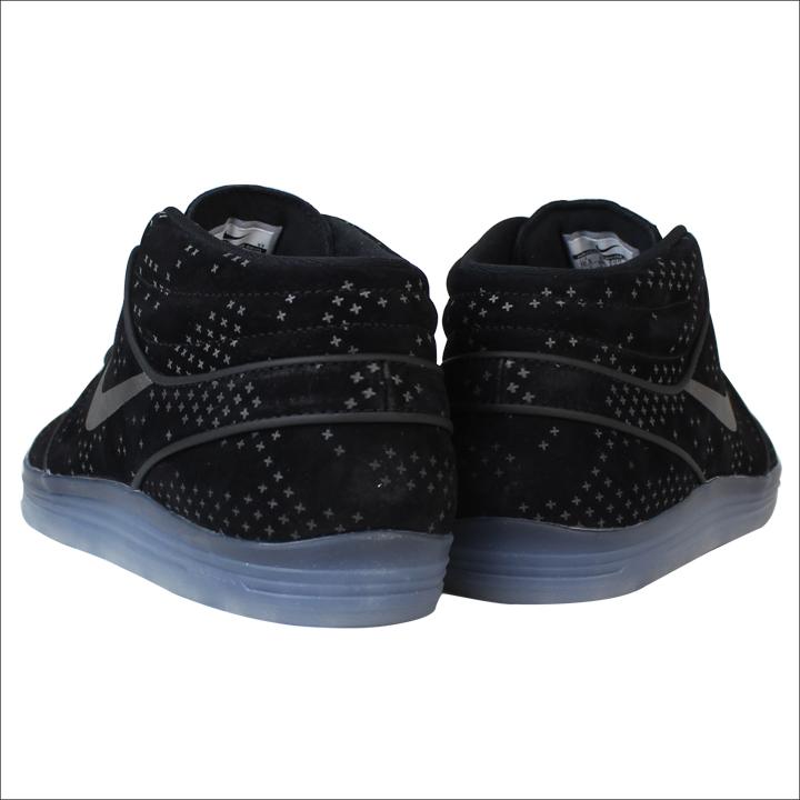 Nike NIKE Luna sneakers LUNAR STEFAN JANOSKI MID FLASH SB Luna Stefan  janoski mid Flash 806327-001 black mens