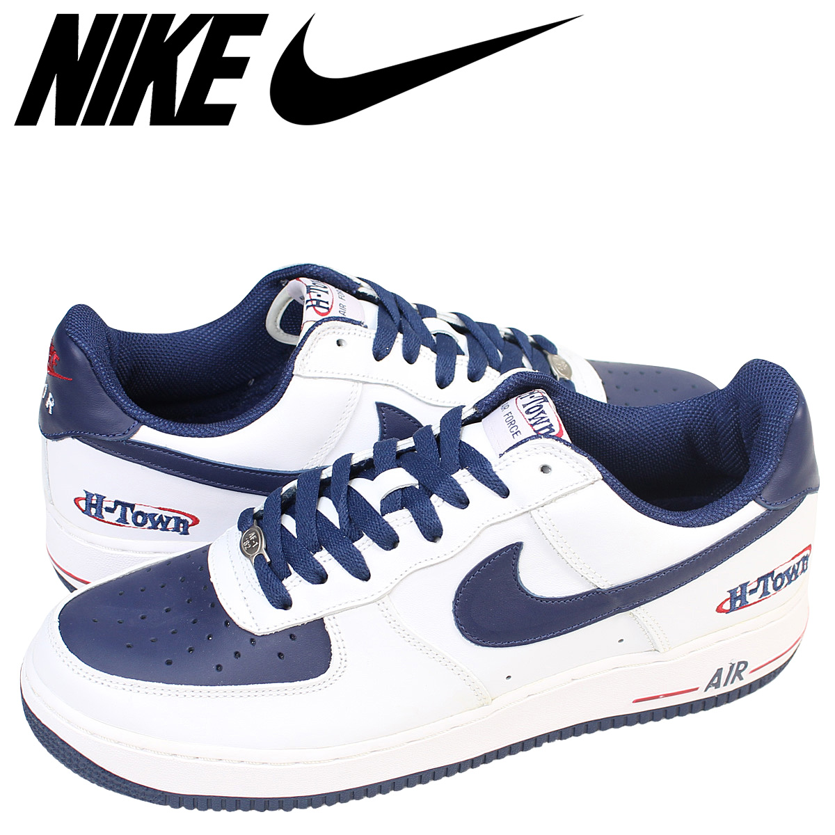 NIKE Nike air force 1 low sneakers AIR FORCE 1 LOW H TOWN men 306,353 144 shoes white white
