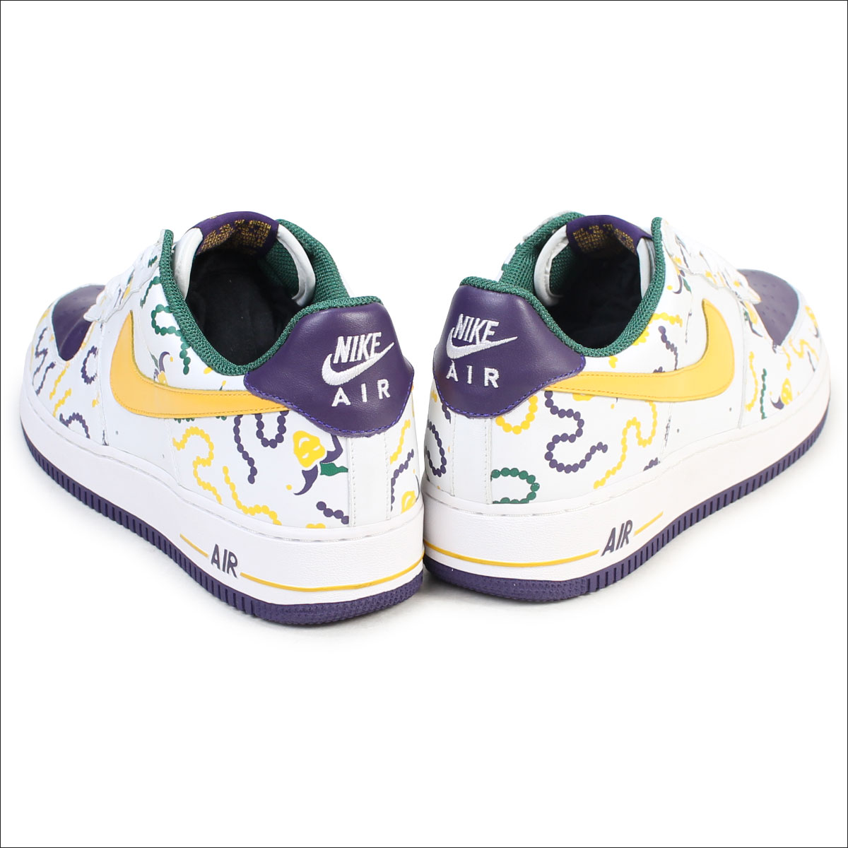NIKE Nike air force 1 sneakers AIR FORCE 1 LOW MARDI GRAS men 306,353 172 shoes low white white