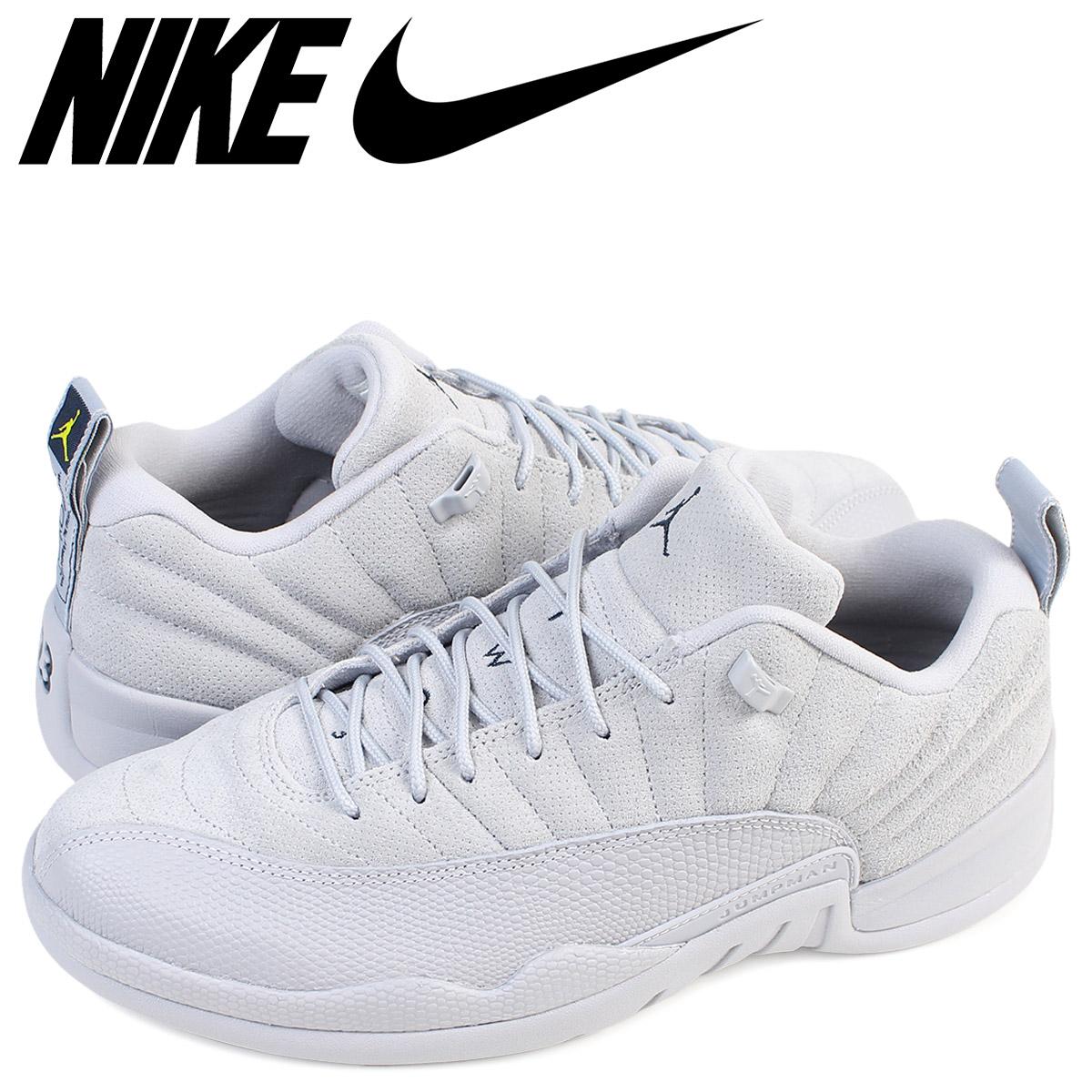 new styles 742c1 3ff1f NIKE Nike Air Jordan 12 nostalgic low sneakers AIR JORDAN 12 RETRO LOW men  308,317-002 shoes gray