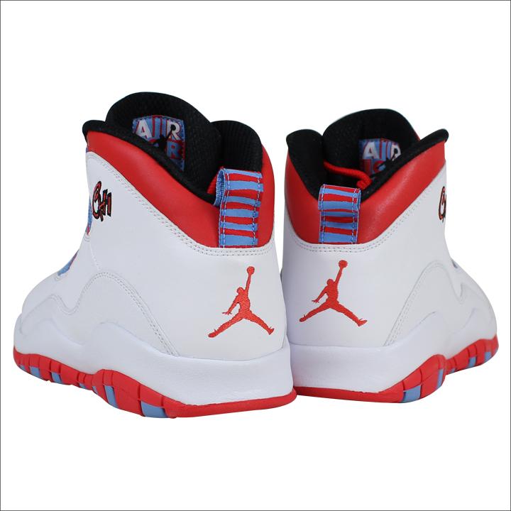 brand new 01a34 052bb NIKE Nike Air Jordan sneakers AIR JORDAN 10 RETRO CHICAGO Air Jordan 10  retro 310805 - 114 white men