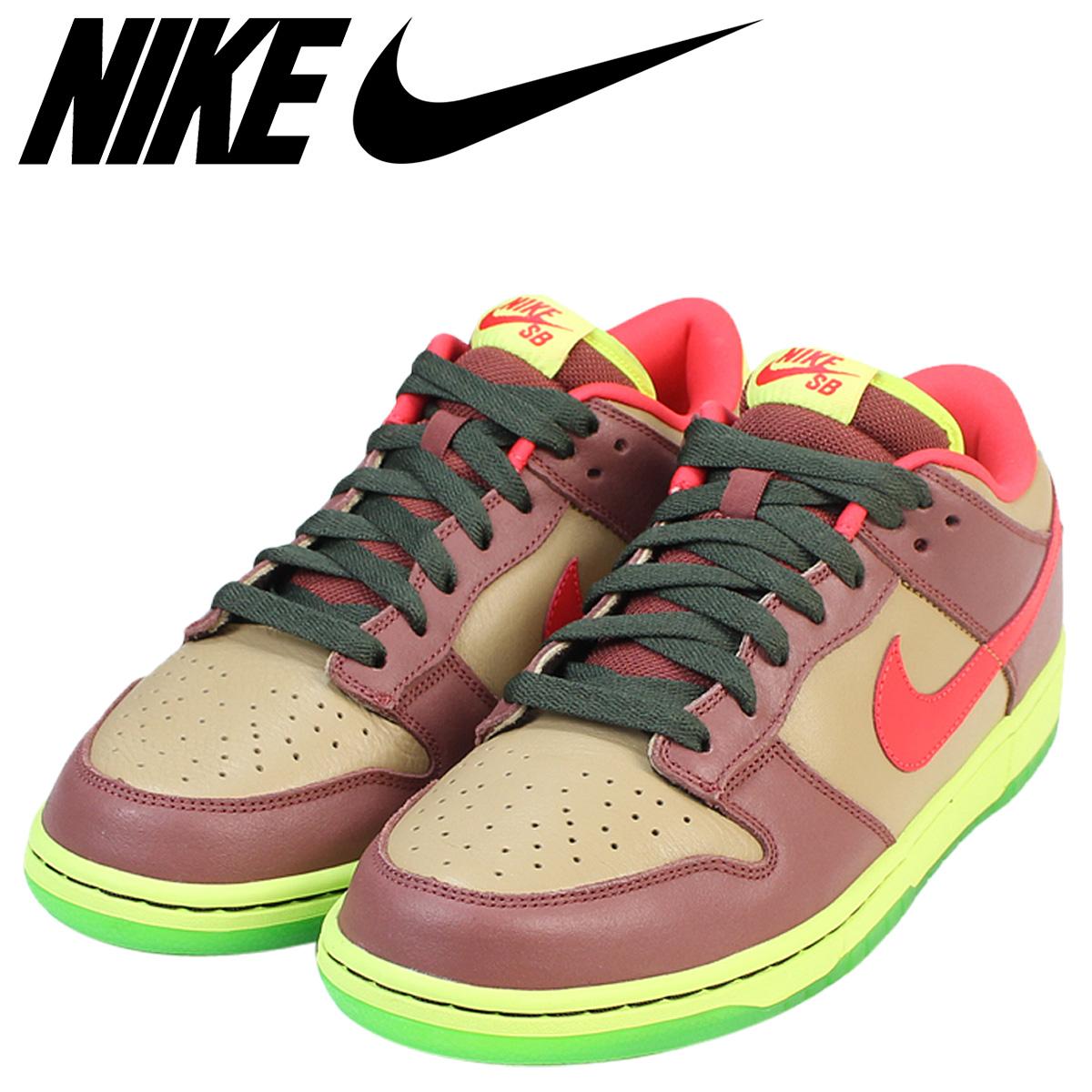 best sneakers ce116 6ef70 Nike NIKE SB dunk low sneakers DUNK LOW PREMIUM TOXIC AVENGERS men  313,170-261 shoes brown