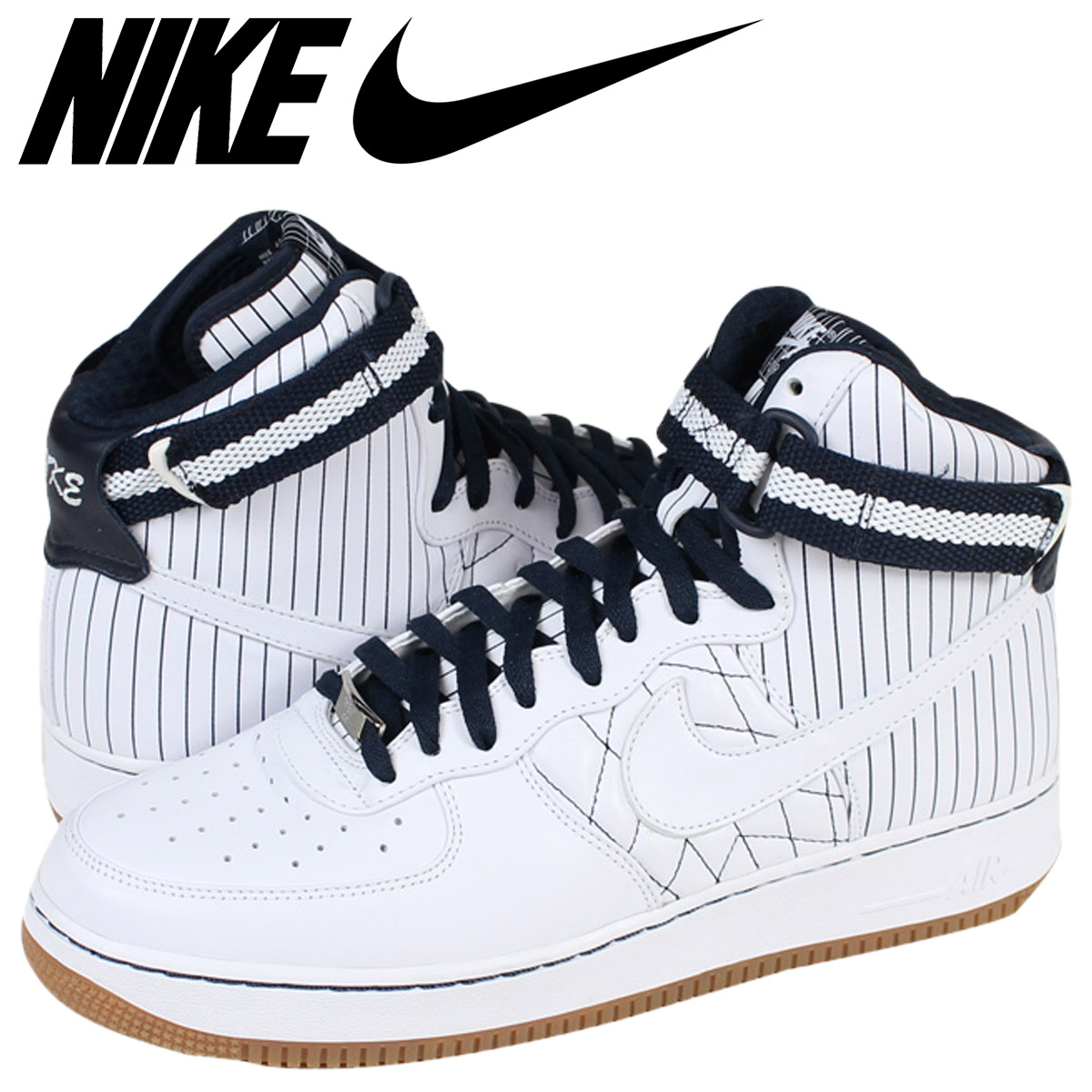 332 White 490 High Nike Force Nyc Air Men Sneakers Stadium 1 Yankees 111 Hi my8OvNnw0P