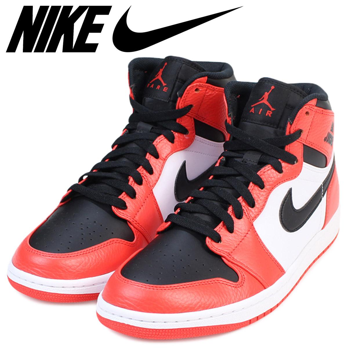 hot sale online 88b13 2bf4f Nike NIKE Air Jordan 1 nostalgic high sneakers AIR JORDAN 1 RETRO HI men  332,550-800 shoes orange