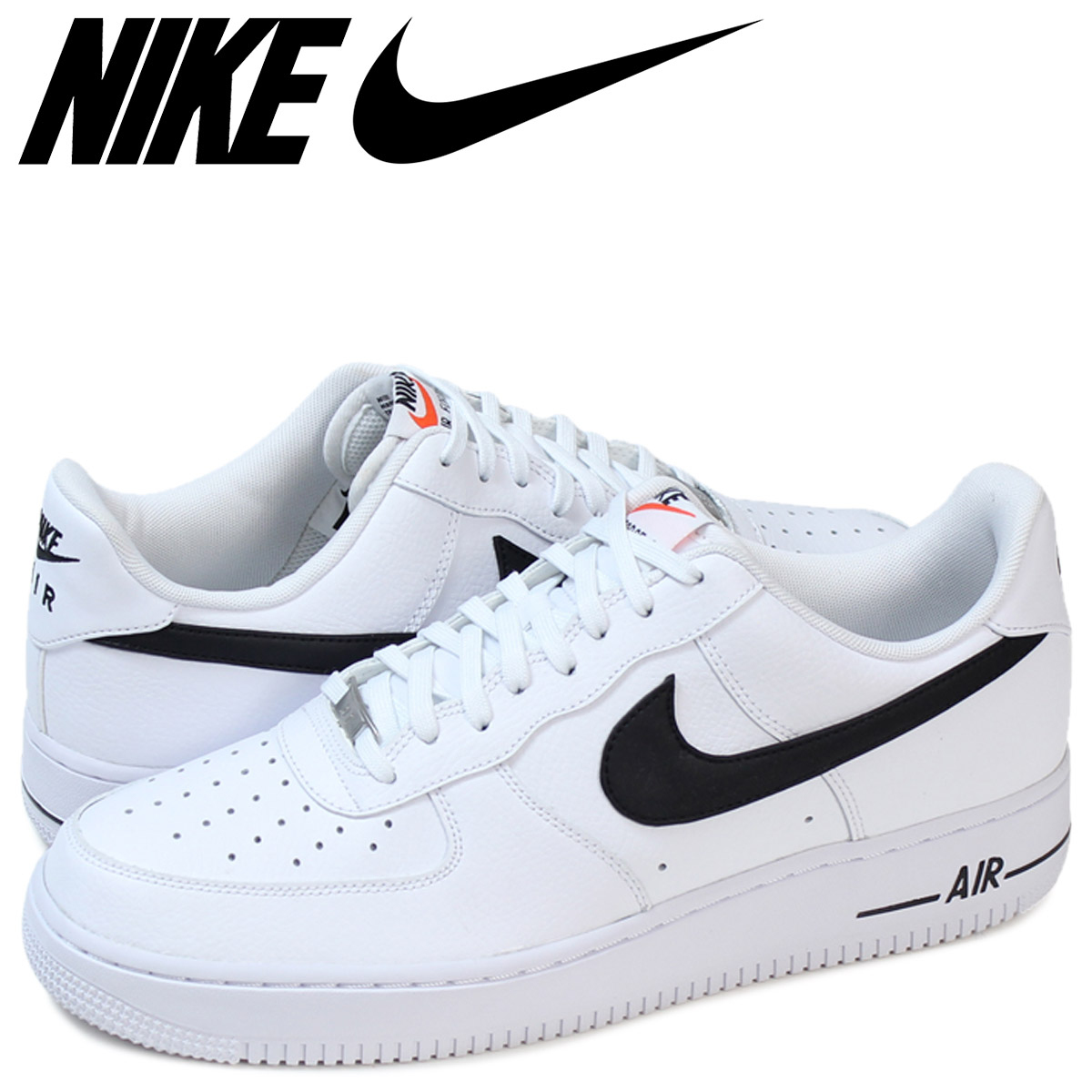 c129fc6d1 NIKE Nike air force sneakers AIR FORCE 1 07 488,298-158 white white men ...