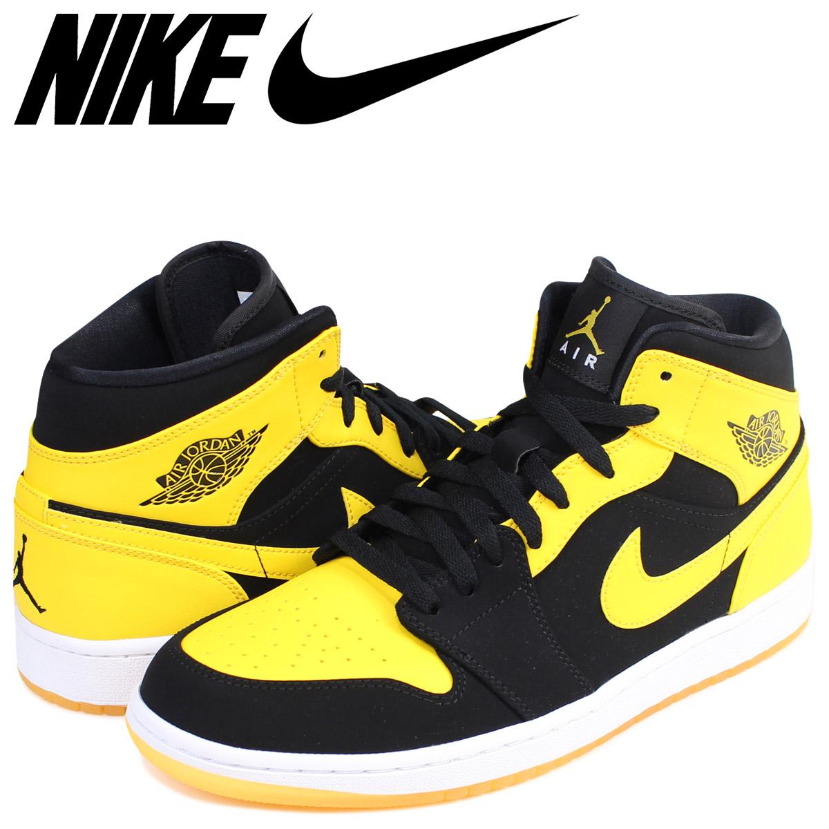 724 035 Mid Shoes Jordan Black 554 Men Air 1 Nike Sneakers 0Nwv8mnO