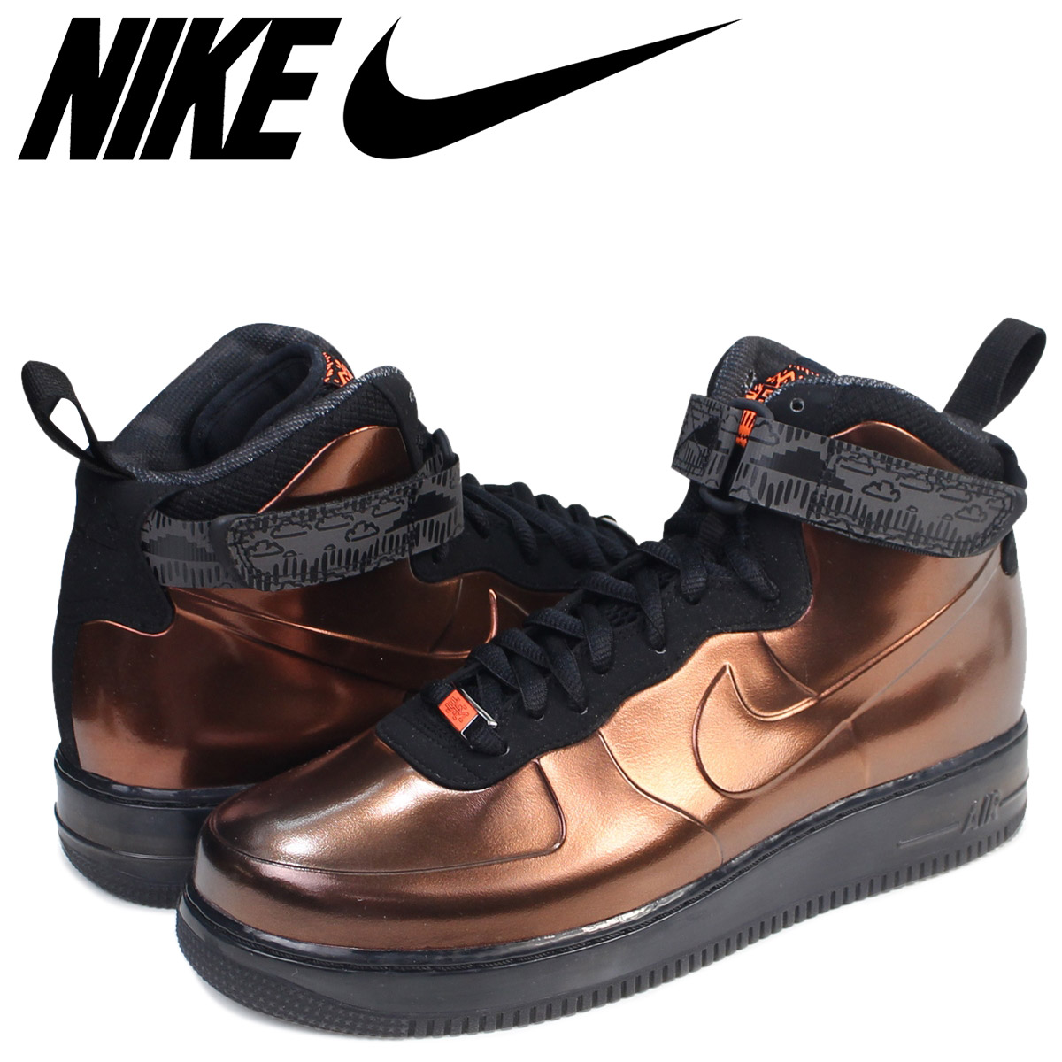 new product 60ed2 58d2d Nike NIKE air force 1 フォームポジットスニーカー AIR FORCE 1 FOAMPOSITE BHM QS 586,583-  ...