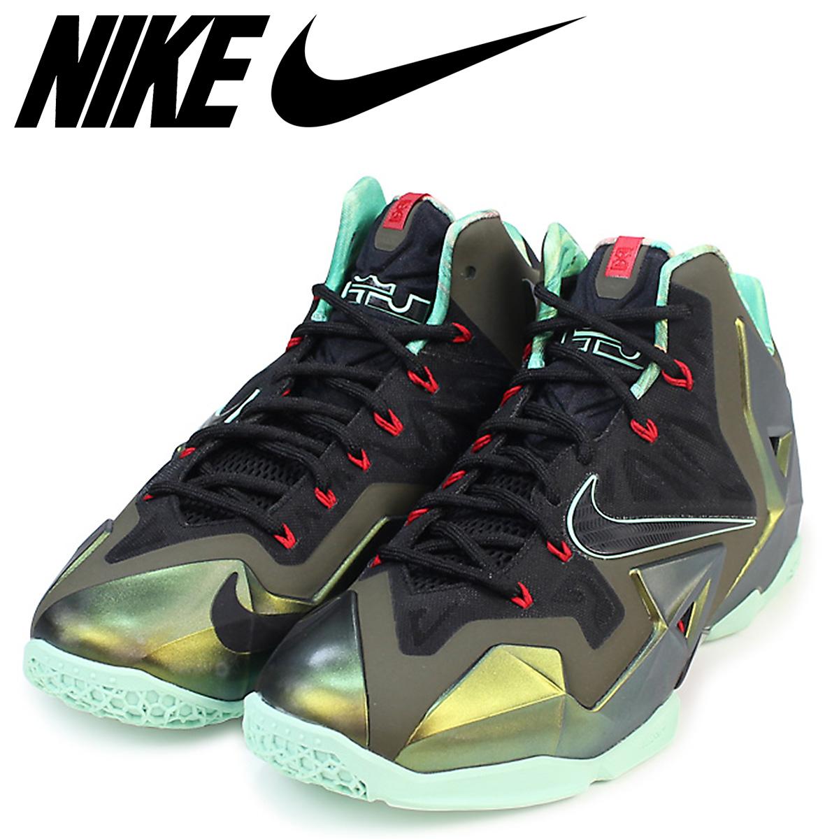 pretty nice 56c01 78713 Nike NIKE Revlon 11 sneakers LEBRON 11 KINGS PRIDE men 616,175-700 shoes  gold Revlon ...