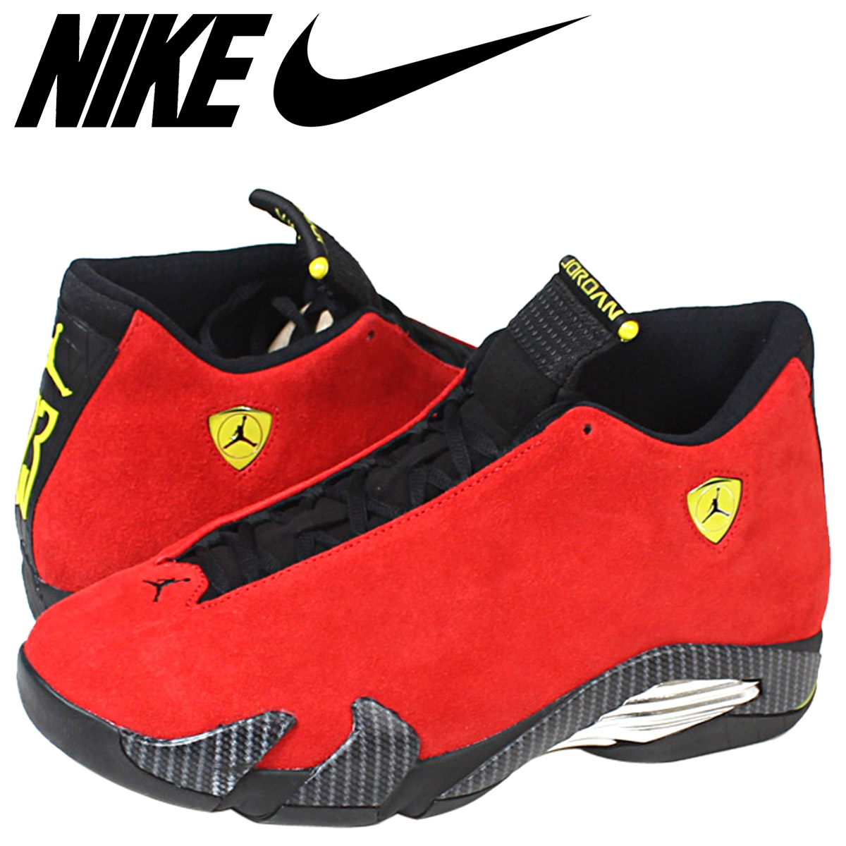 ee5543c440ba france sold out nike nike air jordan sneakers air jordan 14 retro ferrari  air jordan 1