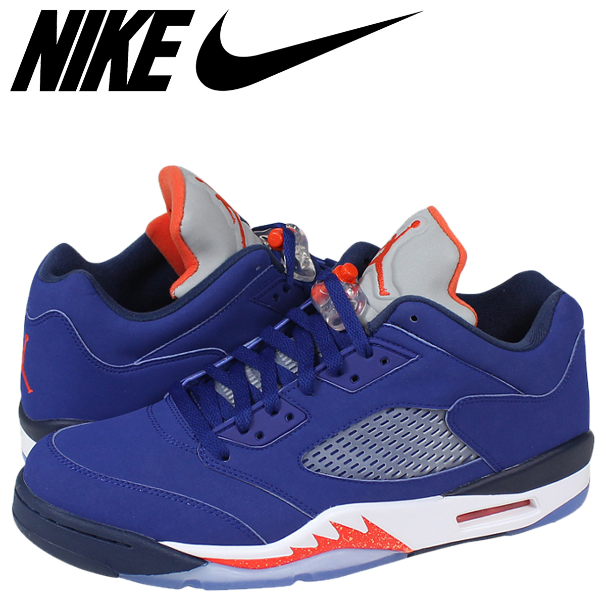933cb8cdbaa ... clearance nike nike air jordan sneakers air jordan 5 retro low knicks  air jordan 5 retro