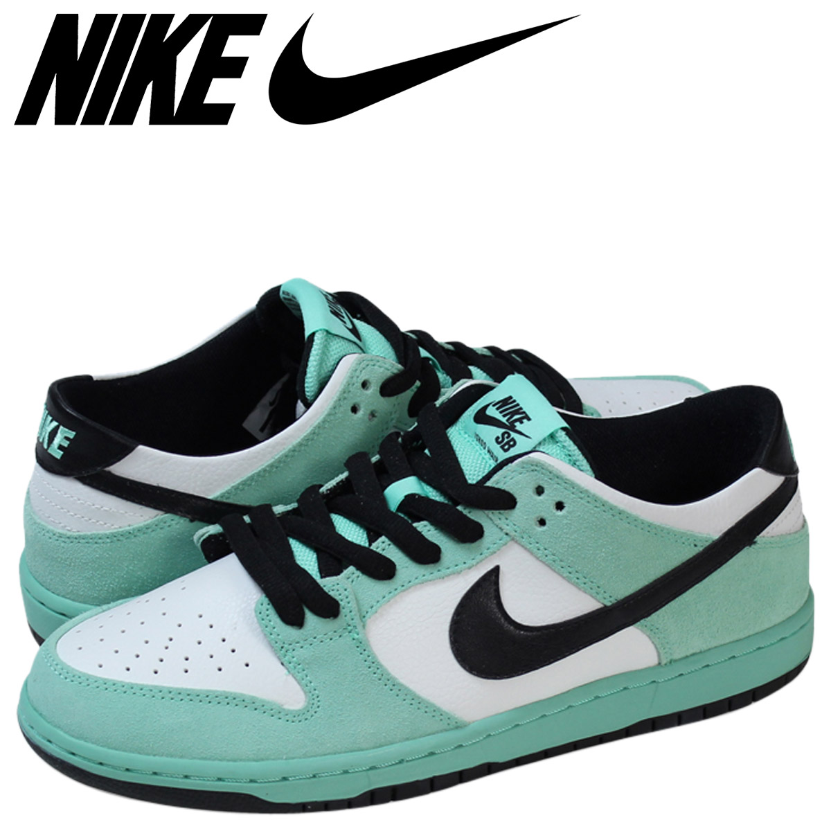 new concept 07bed b0fbb NIKE Nike SB dunk low sneakers DUNK LOW SEA CRYSTAL pro 819,674-301 green  men ...