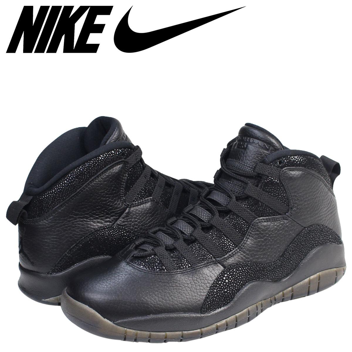 5a2c6bff26c11c Nike NIKE Air Jordan 10 nostalgic sneakers AIR JORDAN 10 RETRO OVO  819