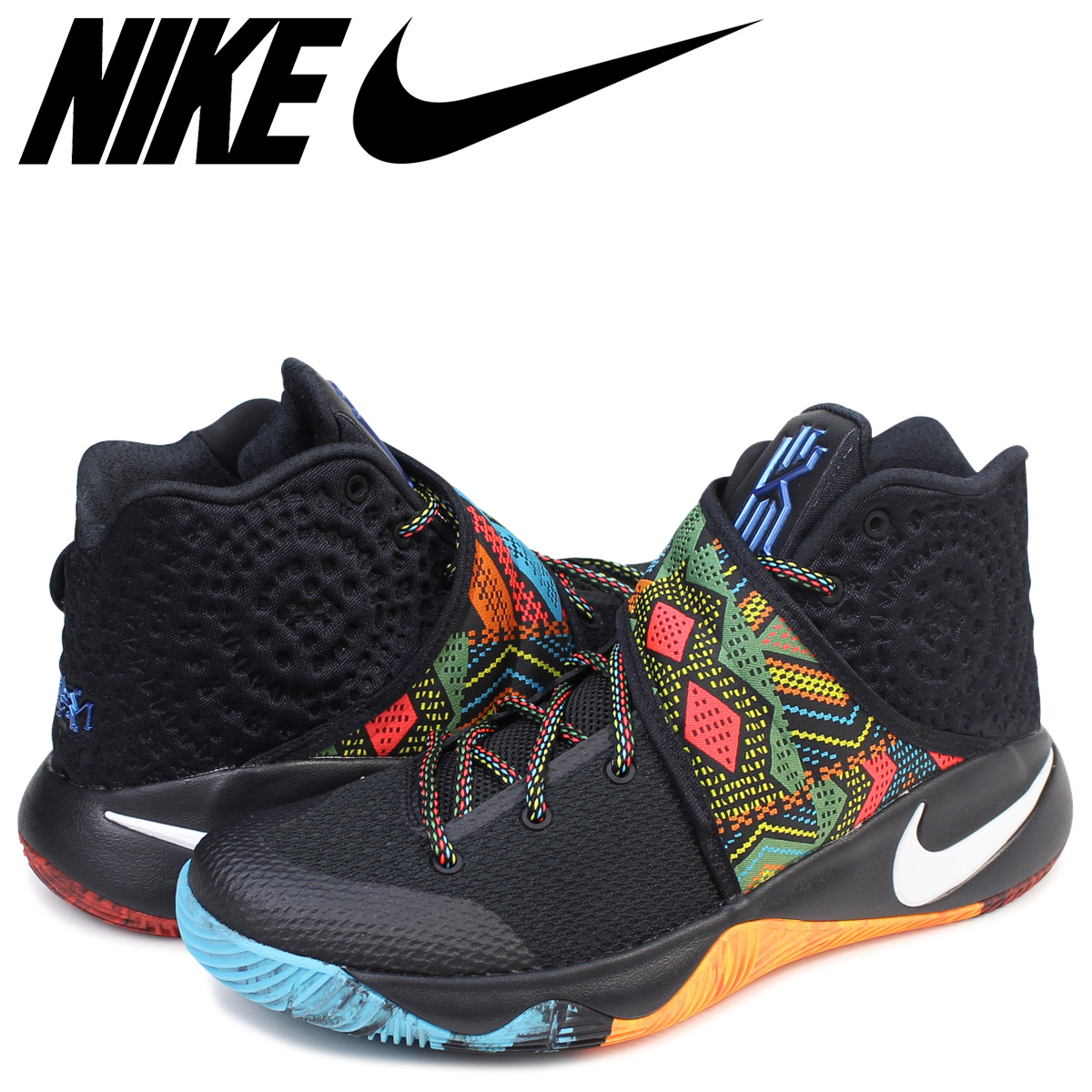 low priced 6a69f 0db00 NIKE Nike chi Lee 2 sneakers KYRIE 2 EP BHM men 828,376-099 shoes black  black