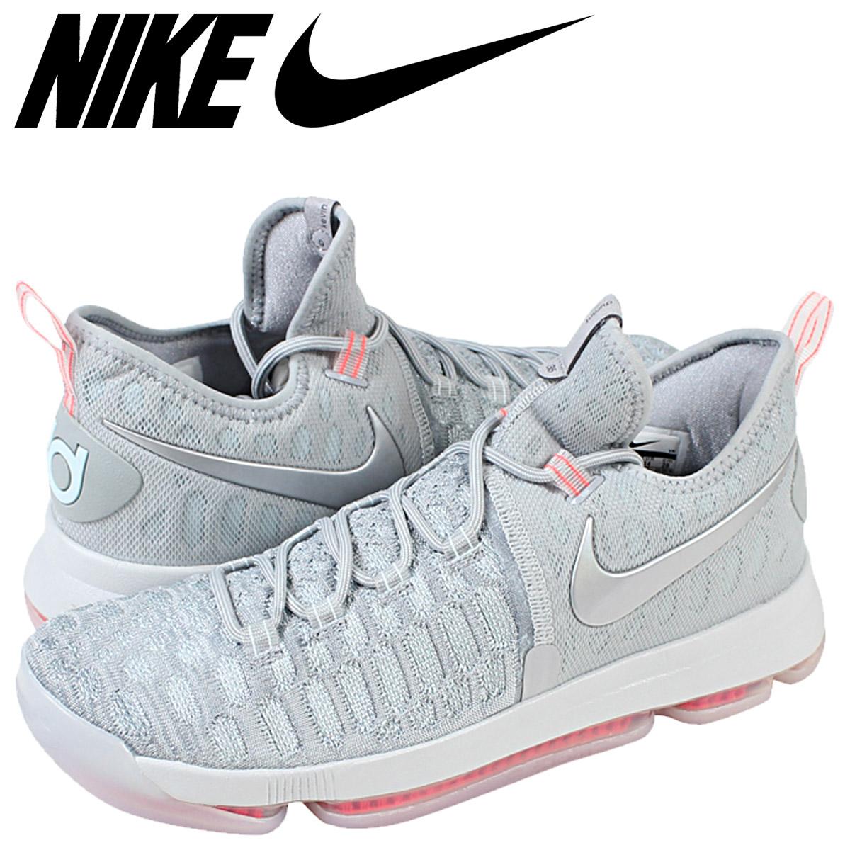 472af51ff049 NIKE Nike zoom sneakers ZOOM KD9 LMTD PRE-HEAT Kevin Durant 9 843396-090  grey-mens