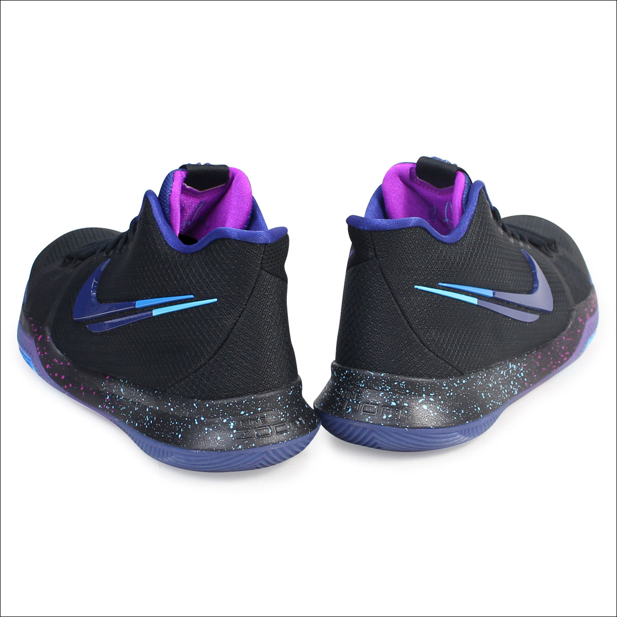 big sale 47231 2aa11 NIKE Nike chi Lee 3 sneakers KYRIE 3 FLIP THE SWITCH 852,396-003 men's  shoes black black