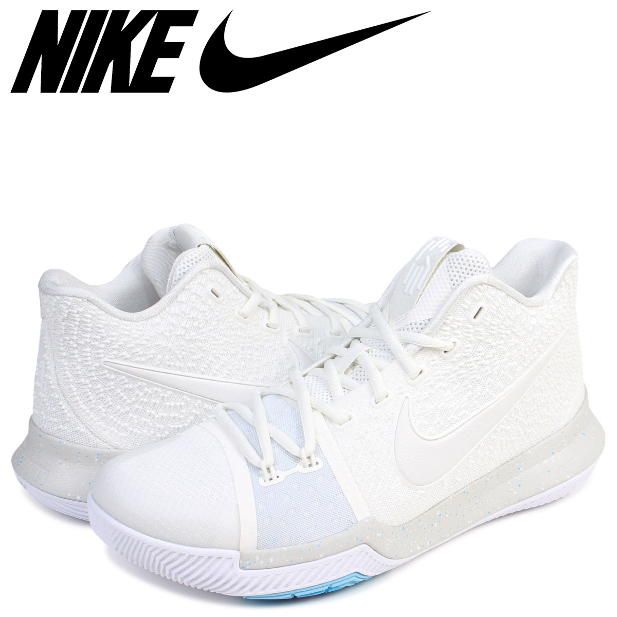 the latest 44aa3 2c6de NIKE Nike chi Lee 3 sneakers KYRIE 3 EP SUMMER PACK men 852,396-101 shoes  ivory