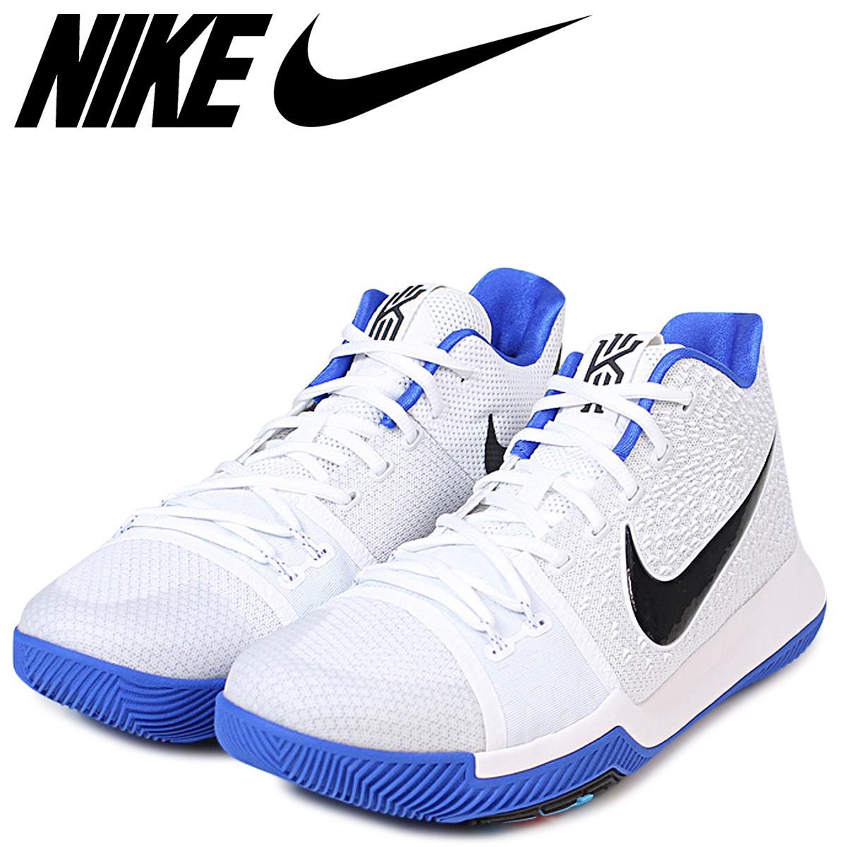 buy popular 9d93b 8276b NIKE Nike chi Lee 3 chi Lee sneakers KYRIE 3 EP men 852,396-102 duke DUKE  white white