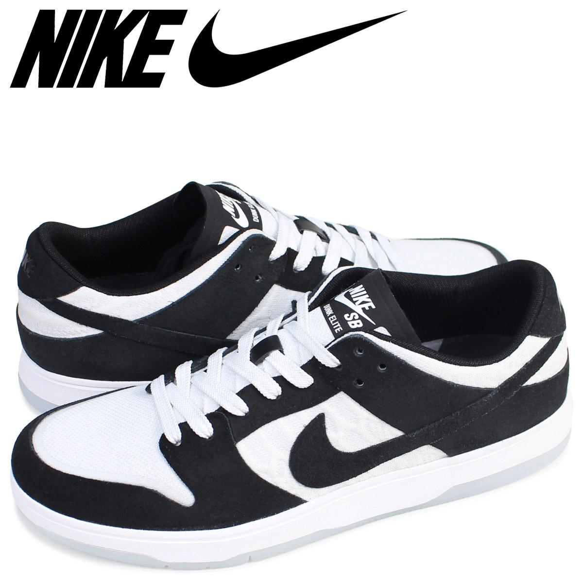 half off b8b9c 9c592 NIKE Nike SB dunk low sneakers ZOOM DUNK LOW ELITE QS OSKI 877,063-001  men's shoes black black