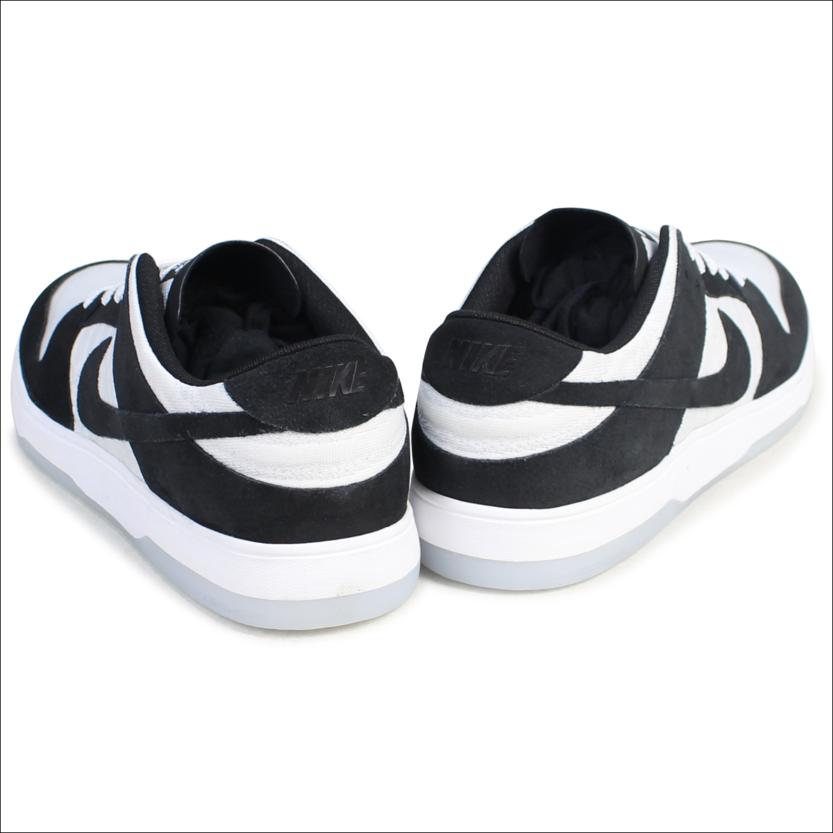 half off d37da 81b45 NIKE Nike SB dunk low sneakers ZOOM DUNK LOW ELITE QS OSKI 877,063-001  men's shoes black black