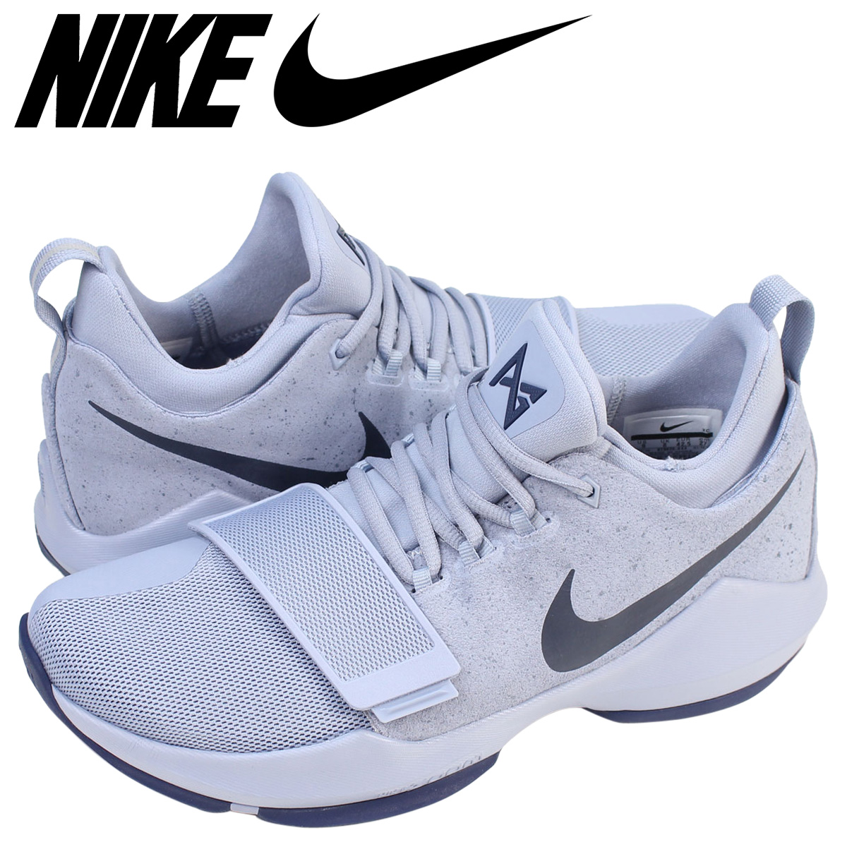 NIKE ナイキ PG1 スニーカー PG 1 EP 878628-044 メンズ 靴 グレー 【zzi】