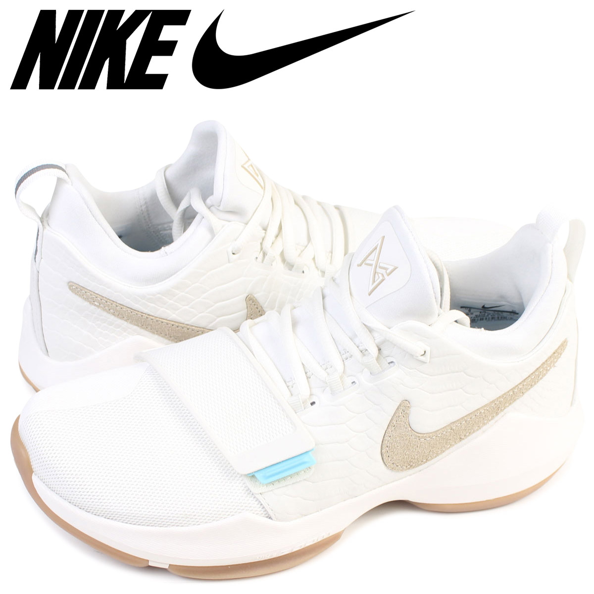 NIKE Nike PG1 sneakers PG 1 EP SUMMER men 878,628 110 shoes white white pole George