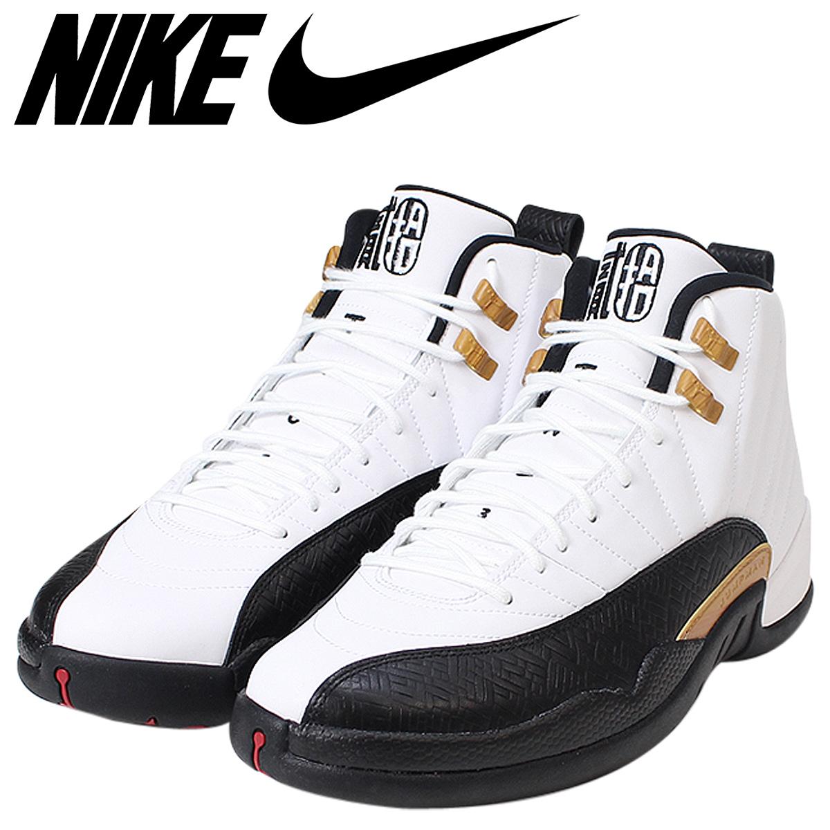 buy popular aeed0 b8f0b NIKE Nike Air Jordan 12 nostalgic sneakers AIR JORDAN 12 RETRO CNY men  881,427-122 Chinese New Year white white