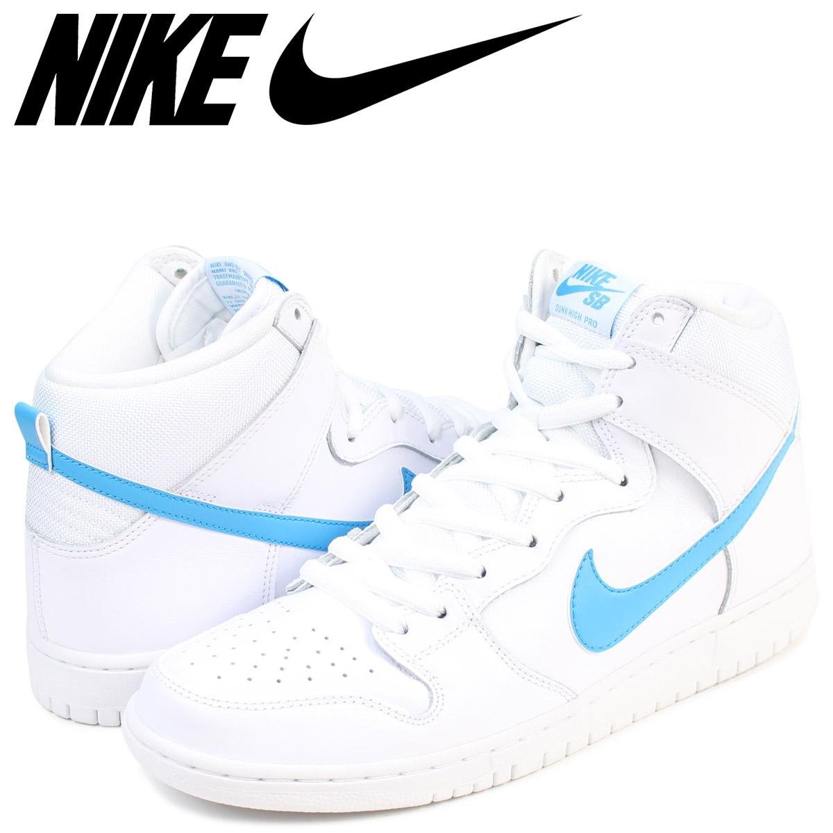 new styles b2f61 491a2 NIKE Nike dunk SB sneakers SB DUNK HIGH TRD QS 881,758-141 men s white white