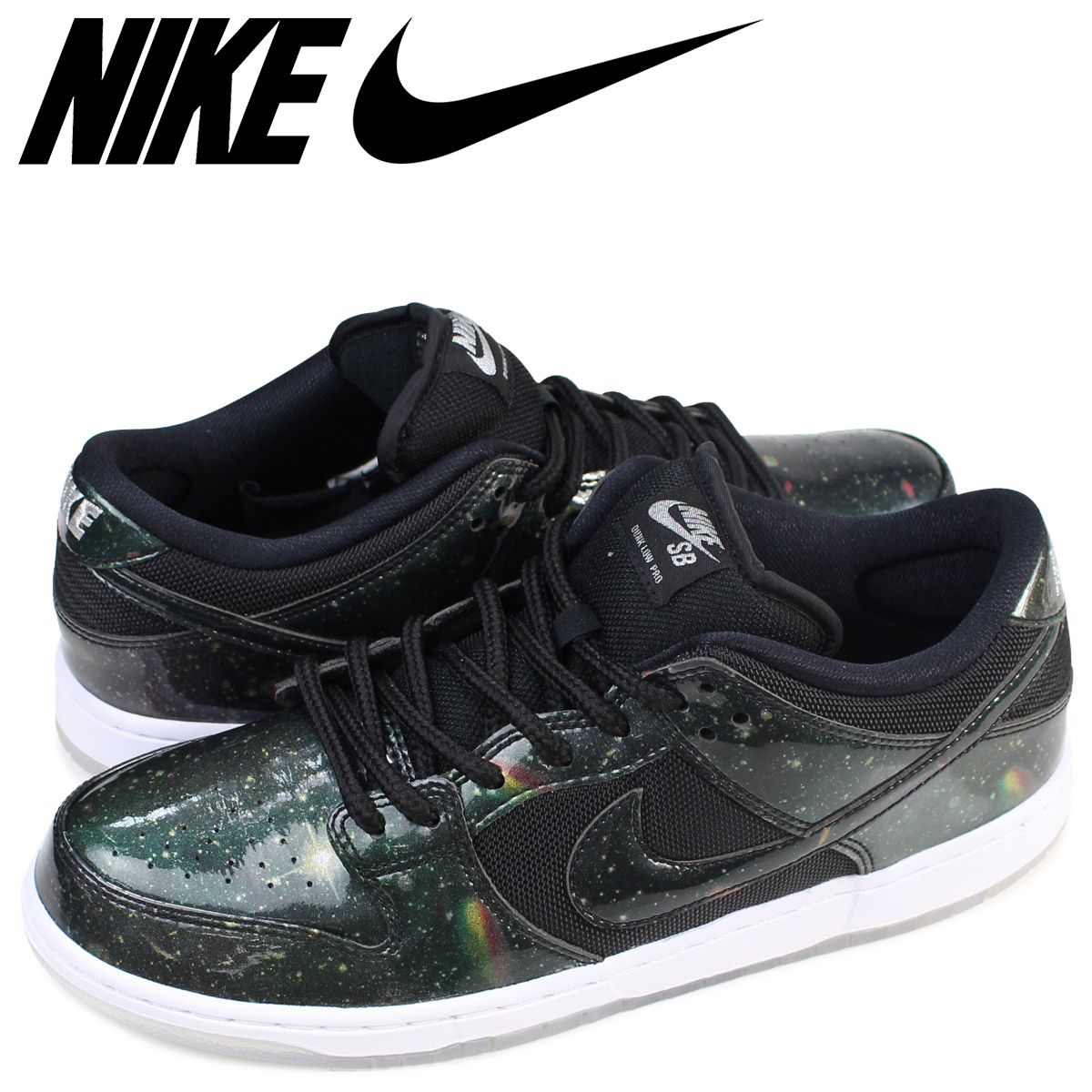 newest 1adad cfd05 Nike NIKE dunk SB sneakers DUNK LOW TRD QS GALAXY 883,232-001 men's shoes  black ...