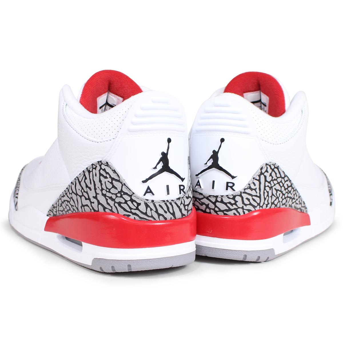 4a20e93f08c2d5 NIKE Nike Air Jordan 3 nostalgic sneakers men AIR JORDAN 3 RETRO KATRINA  136